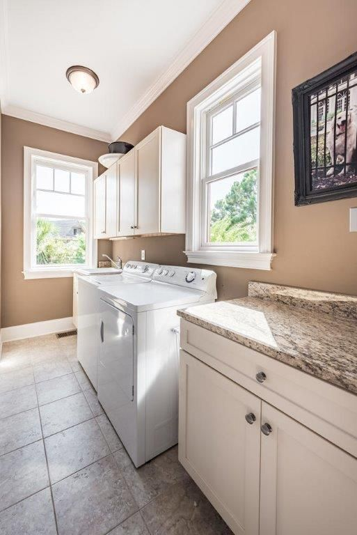 Full laundry room for your convenience.