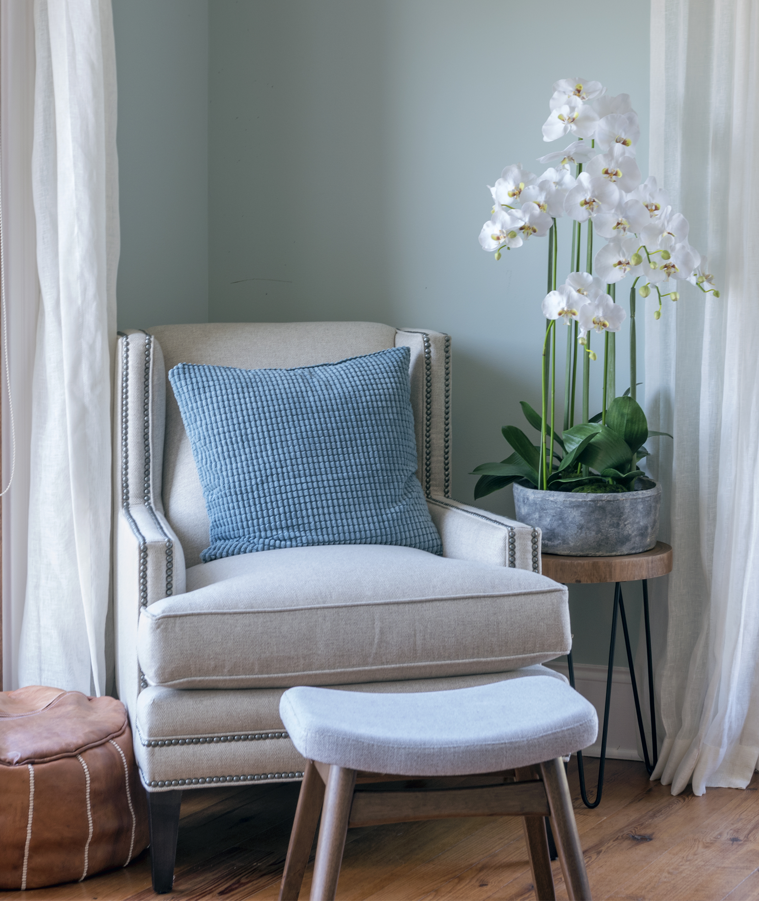 A perfect reading nook.