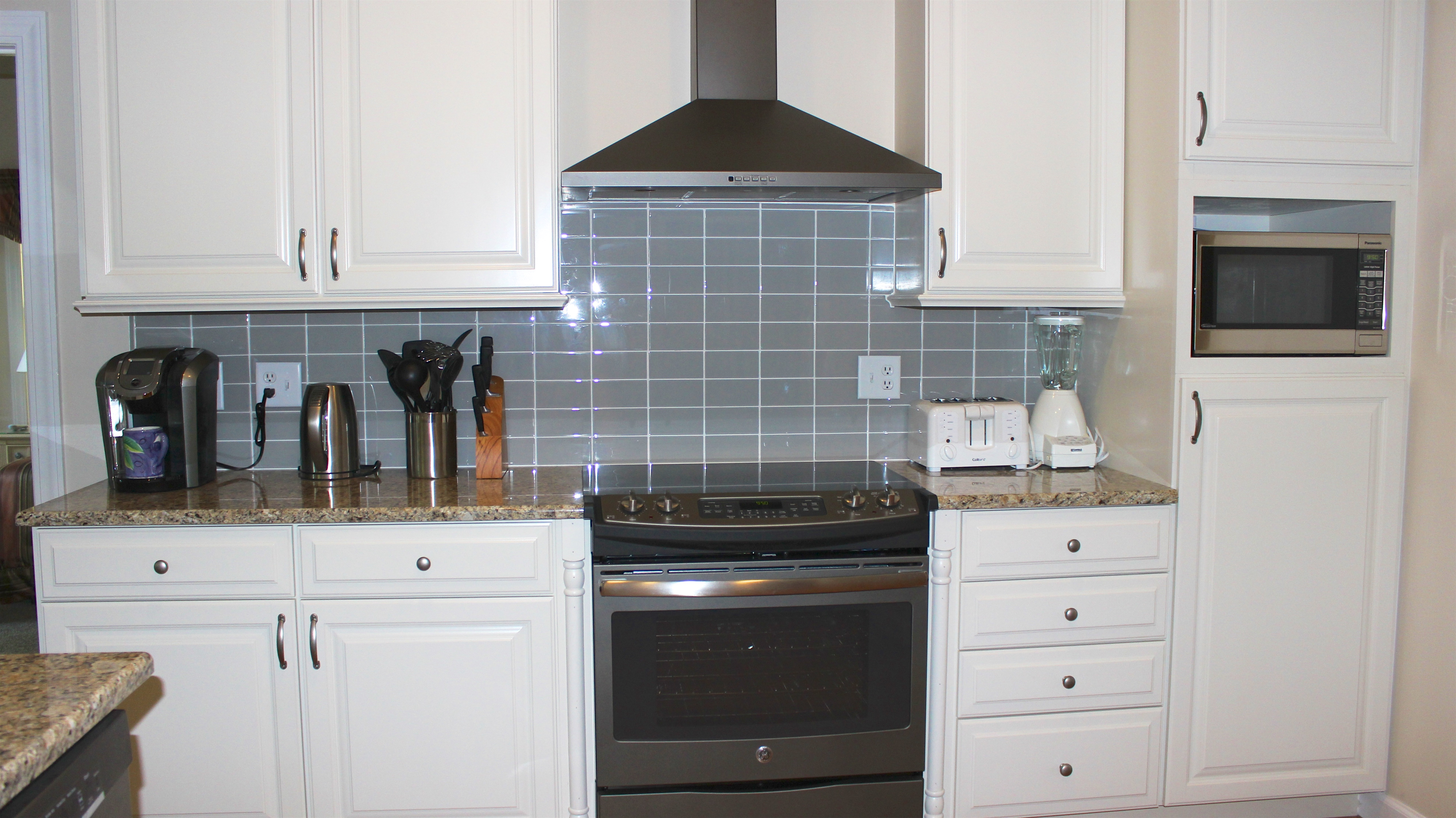 New appliances, a tile backsplash are just some of the upgrades.