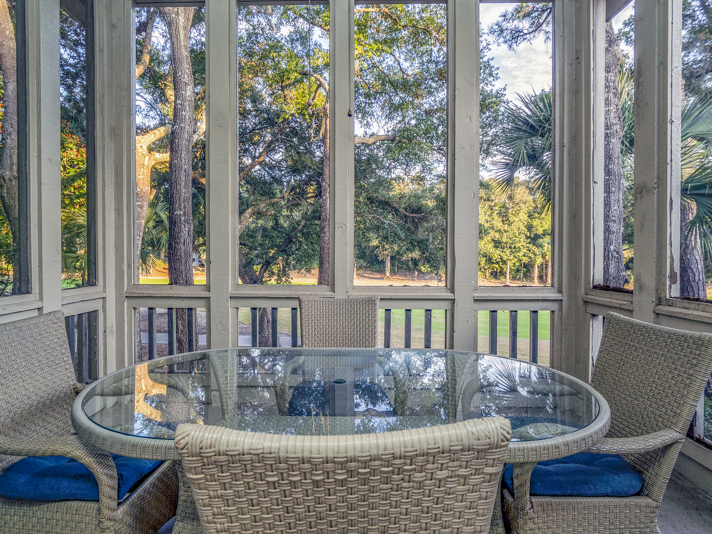 Enjoy the outdoor living space
