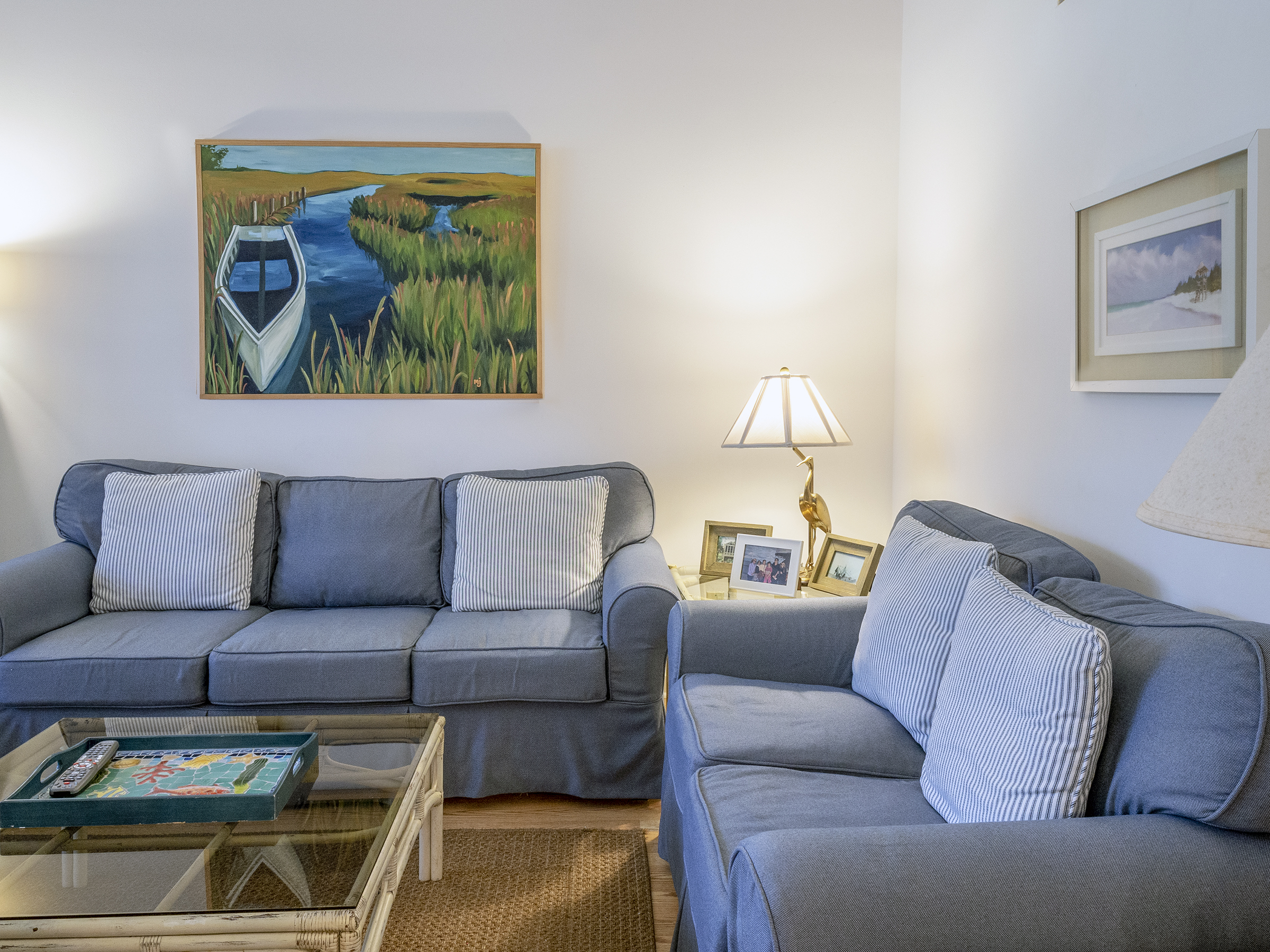 Plenty of comfortable seating in the living areas