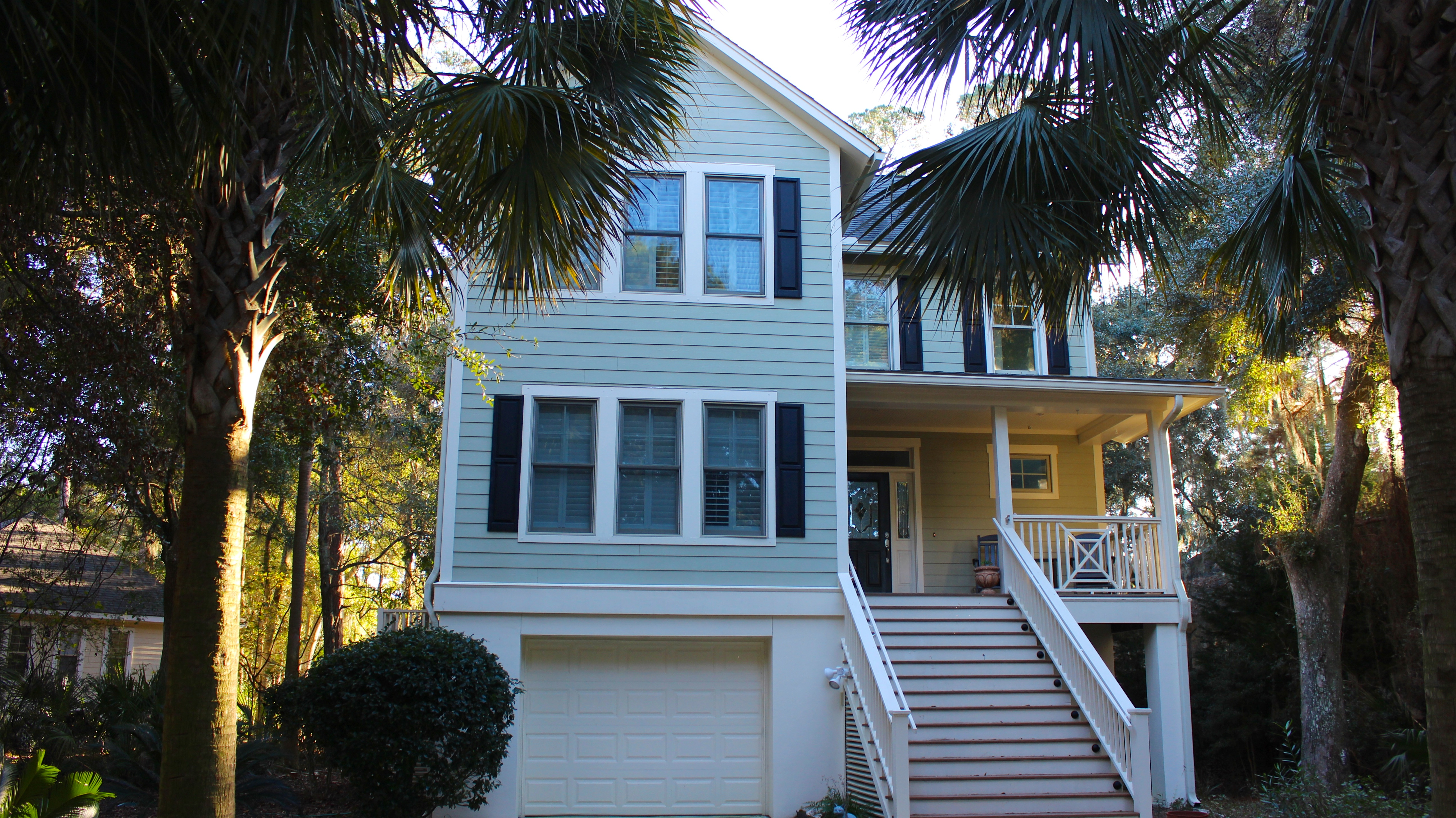 Welcome to this Charleston-style home with great lake views.