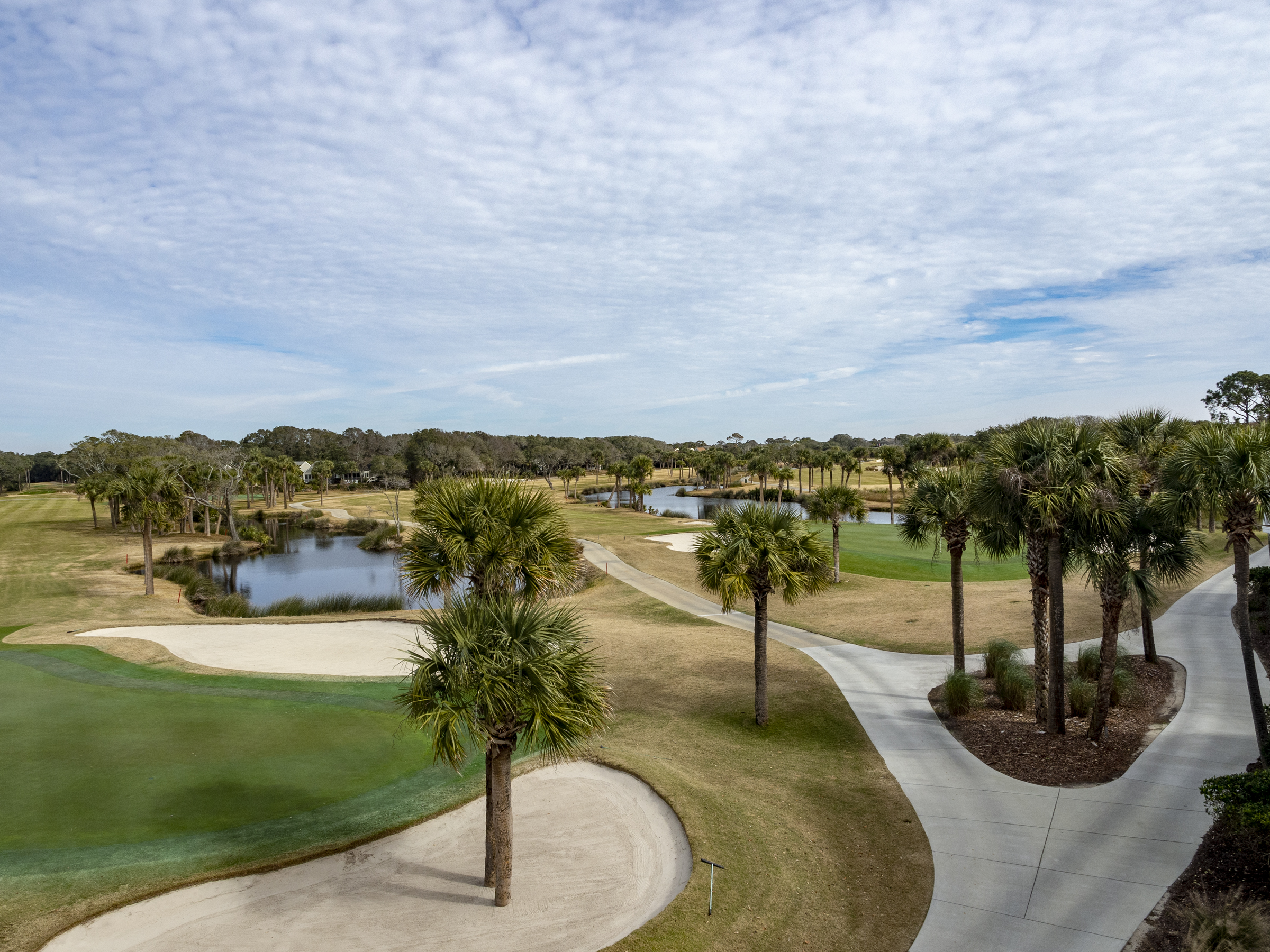 Spectacular golf and lagoon views