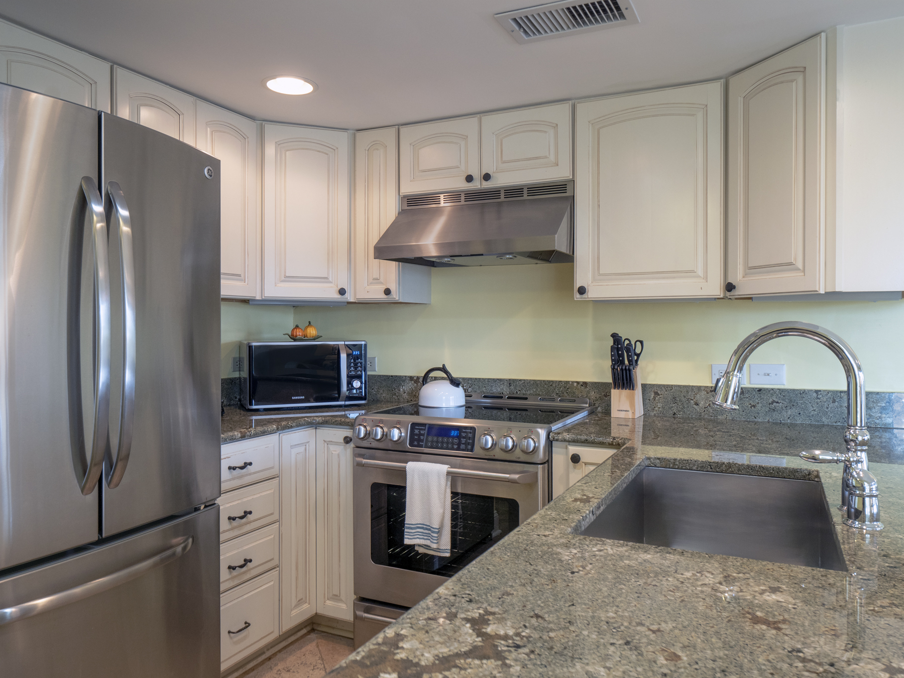 Beautifully fully stocked and updated kitchen
