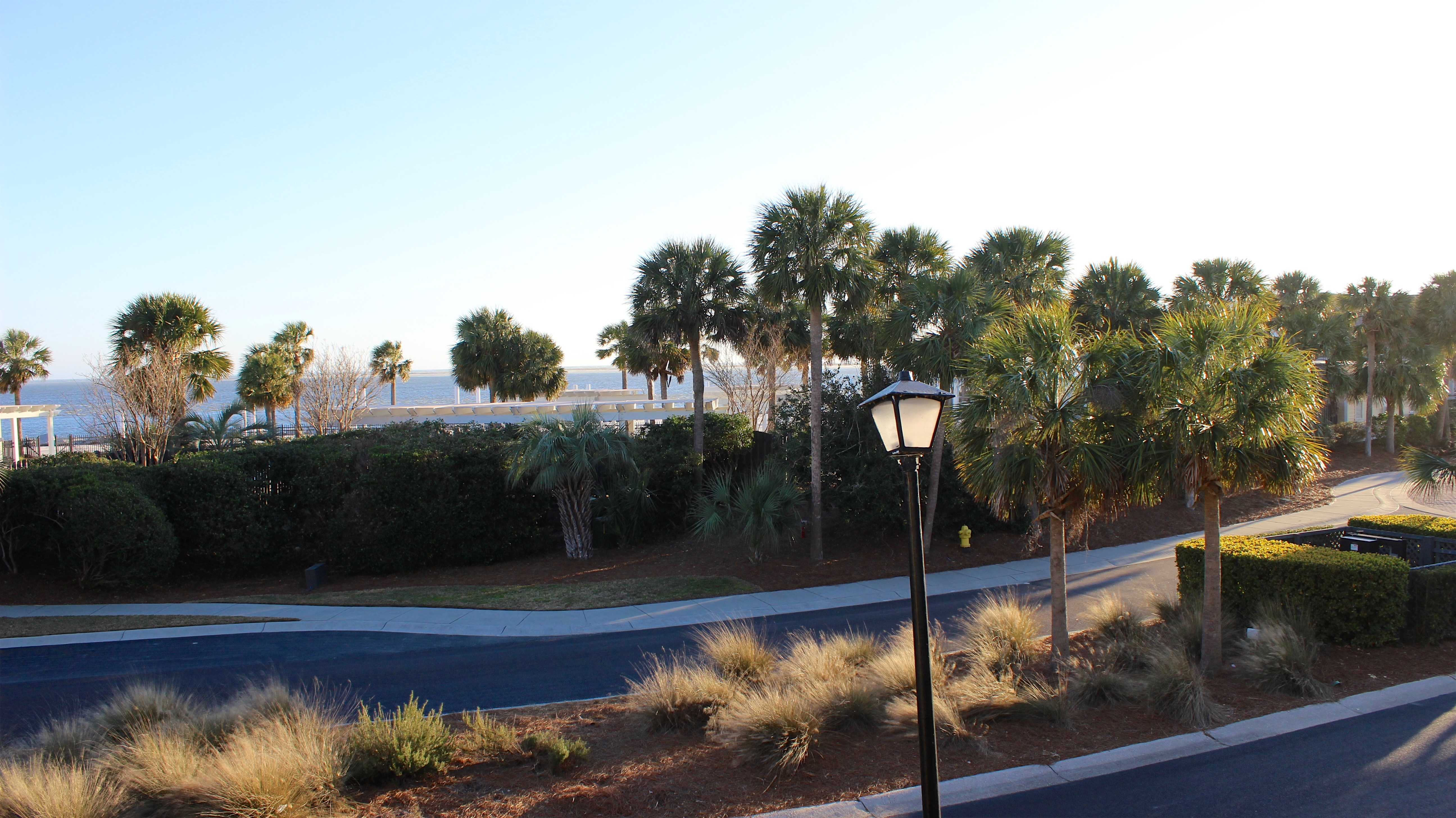 The clubhouse and golf courses are just steps away.