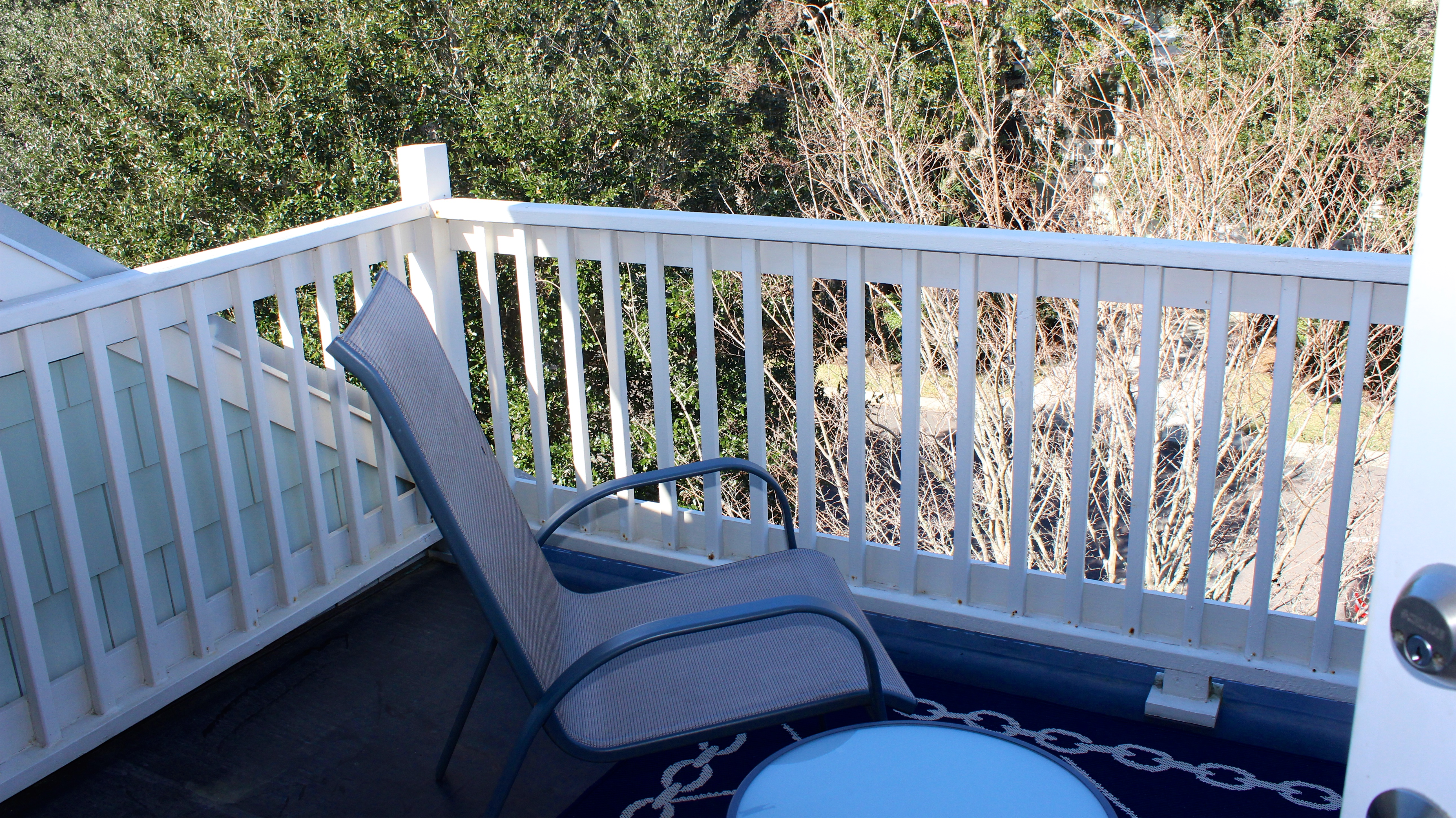 Off the 2nd bedroom is a small open deck.