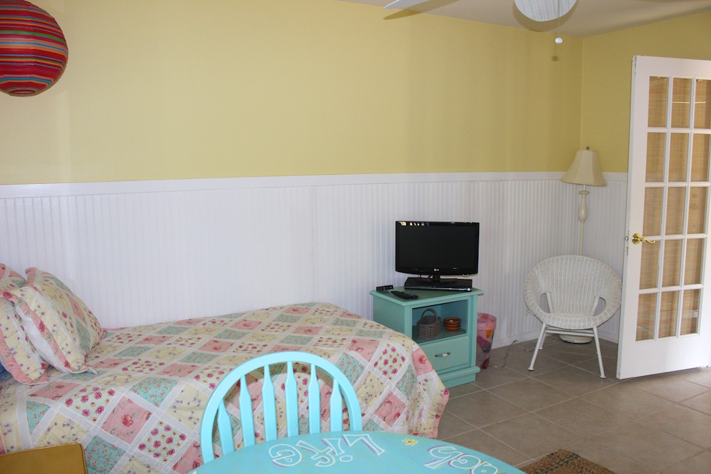There is 1 twin bed in the 1st bedroom.
