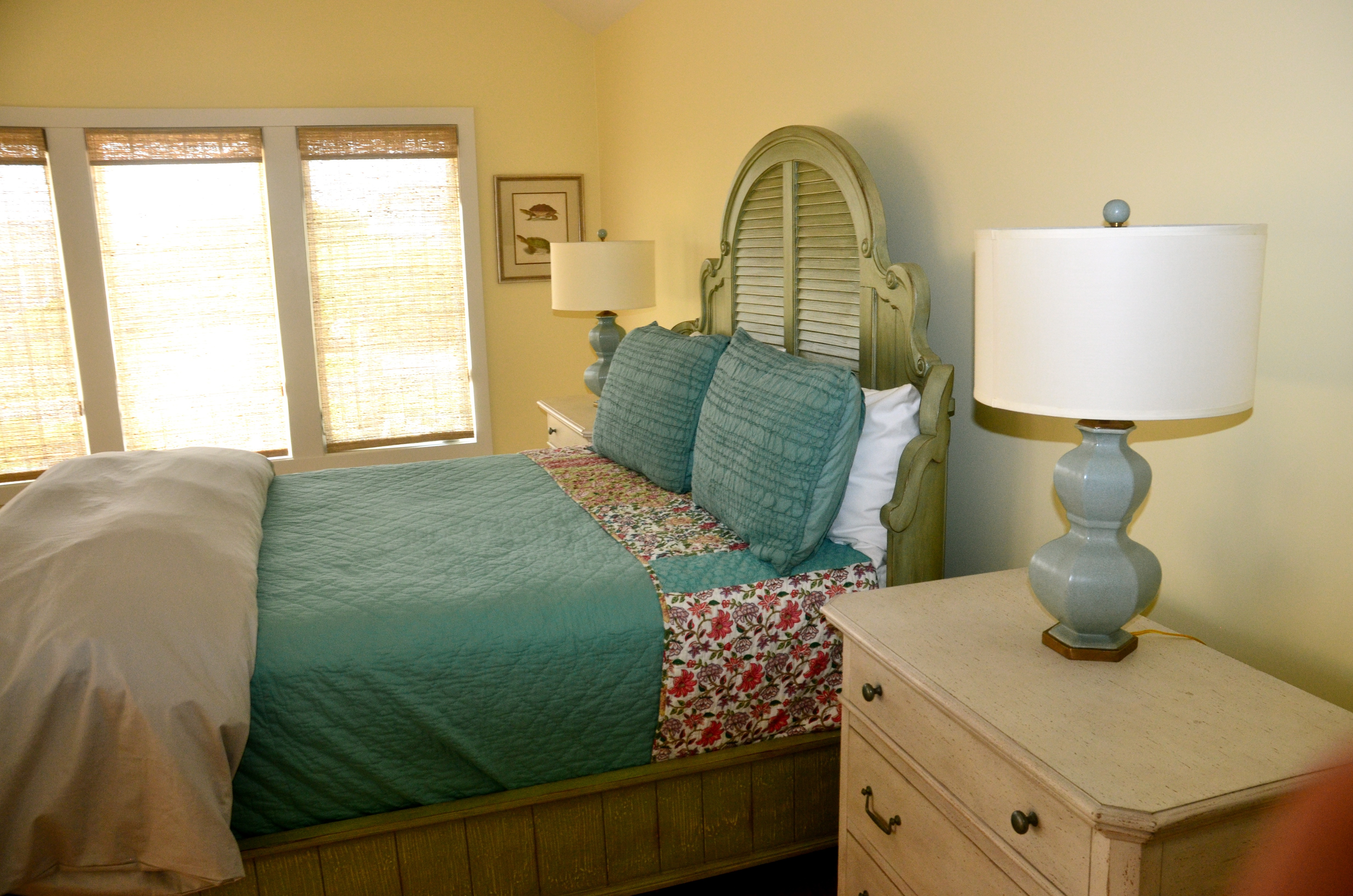In the 3rd bedroom there are windows that look out to the dunes.