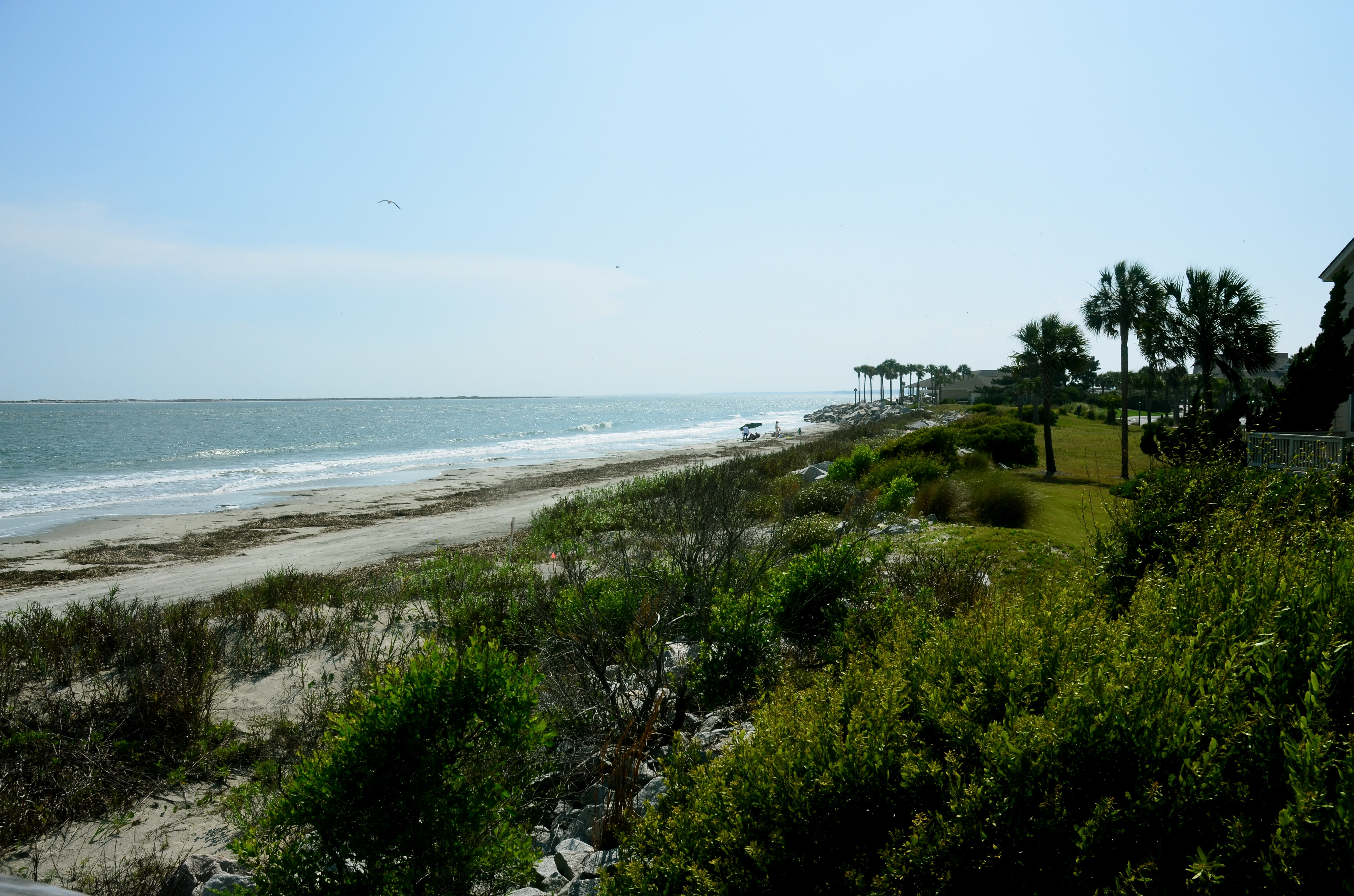The clubhouse and beach pools are just a few yards from this vacation getaway.