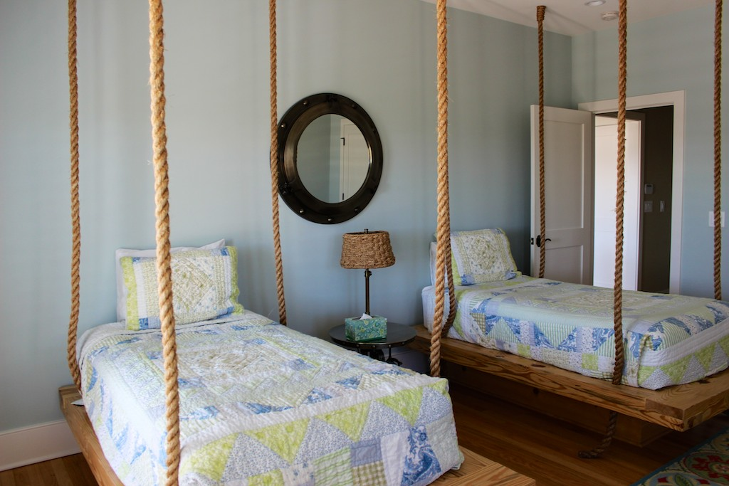 The kids will love this fun and whimsical decor of the 4th bedroom.