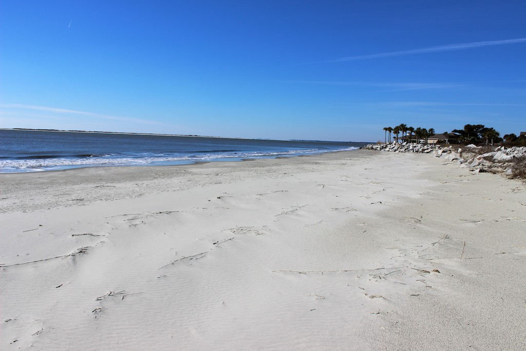 Miles of uncrowded sands are just steps away.
