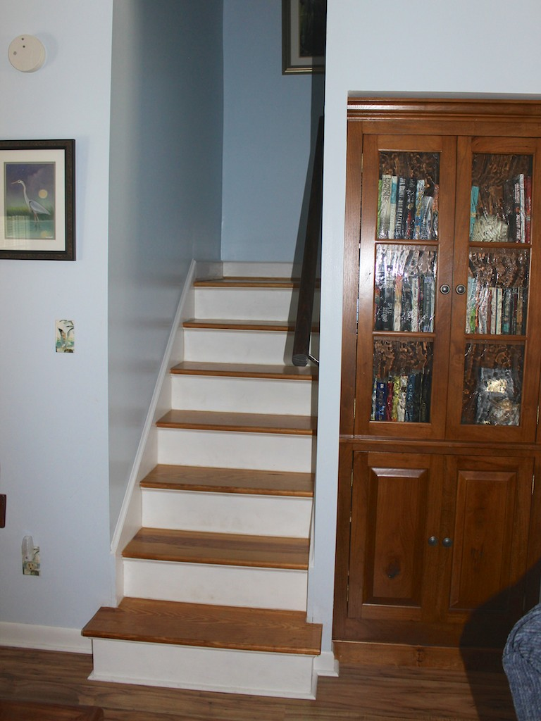 The upstairs loft serves as the 4th bedroom.
