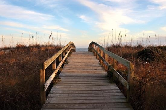 Seabrook Island has multiple boardwalk access points to 3.5 miles of beach