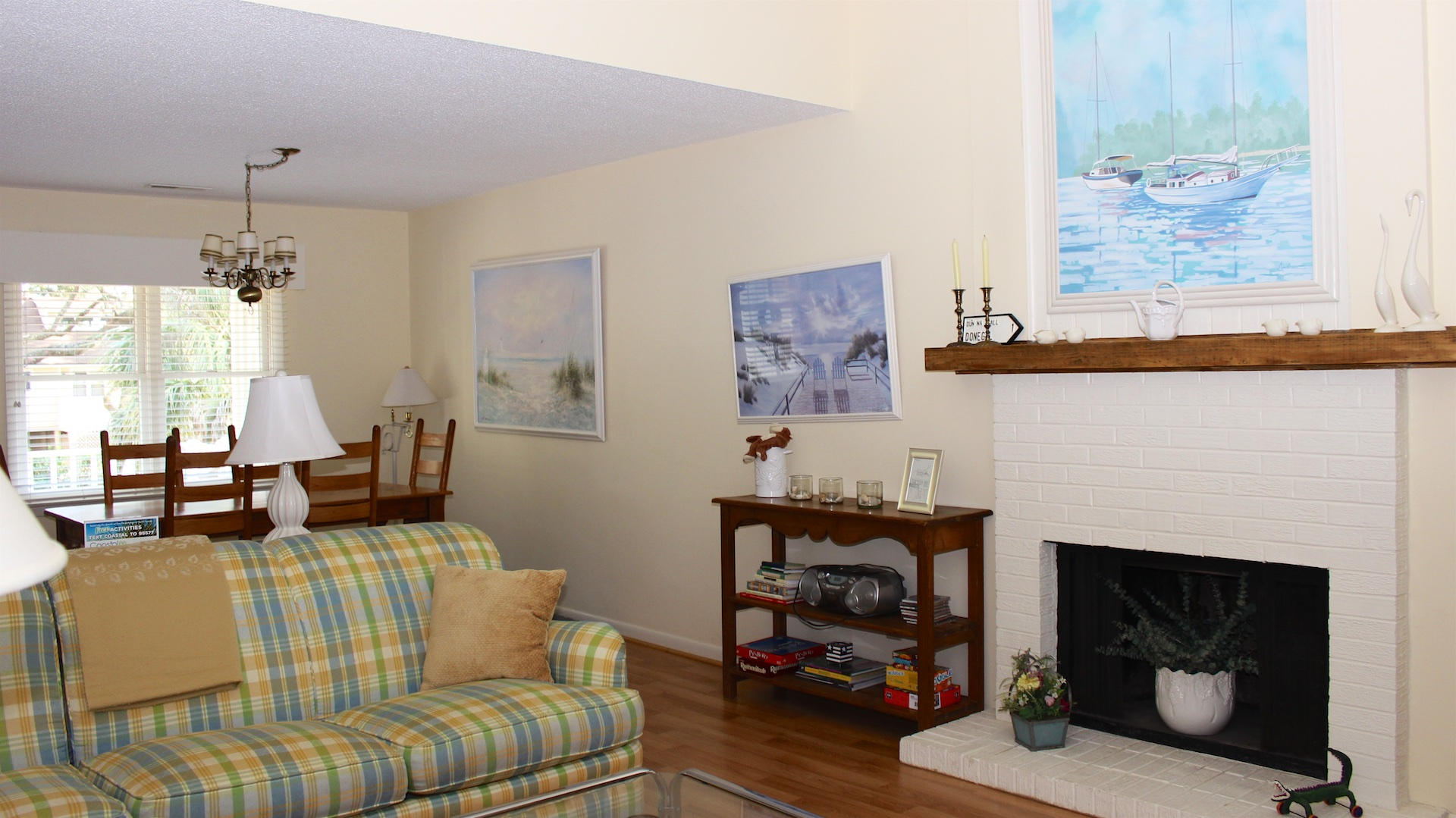 You will enjoy catching up with your family and friends during your Seabrook visit.