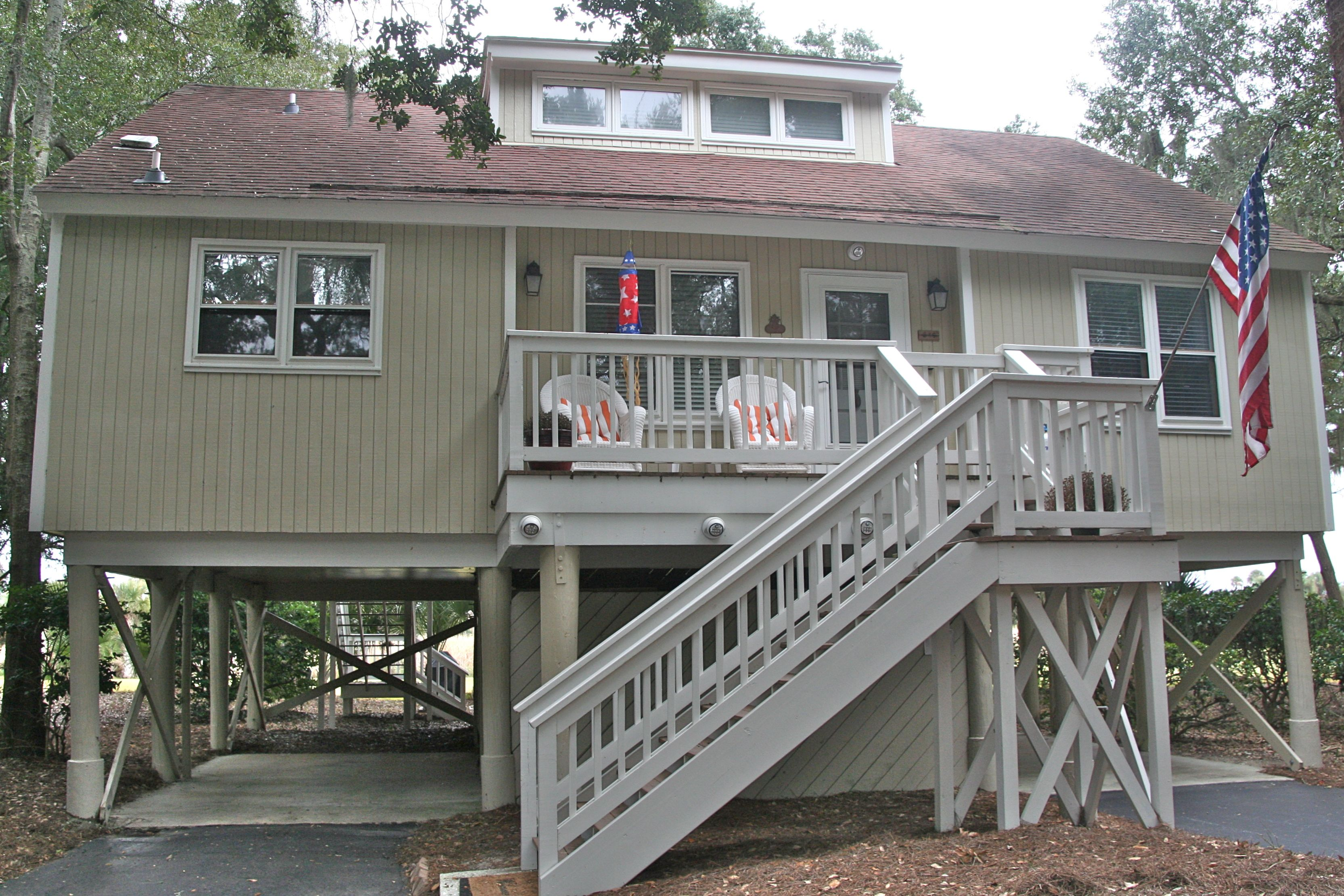 The awesome cottage has been renovated from top to bottom.