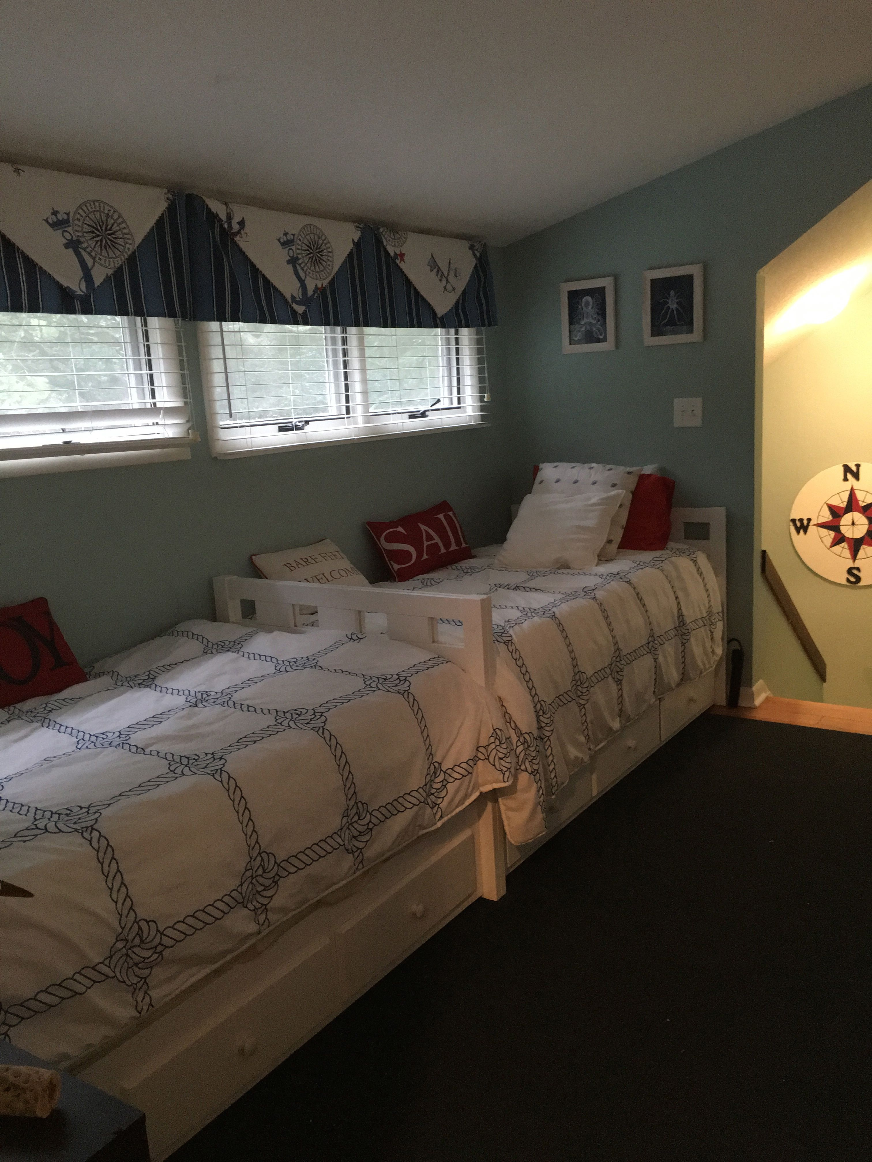 Newly updated loft includes two twin trundle beds.