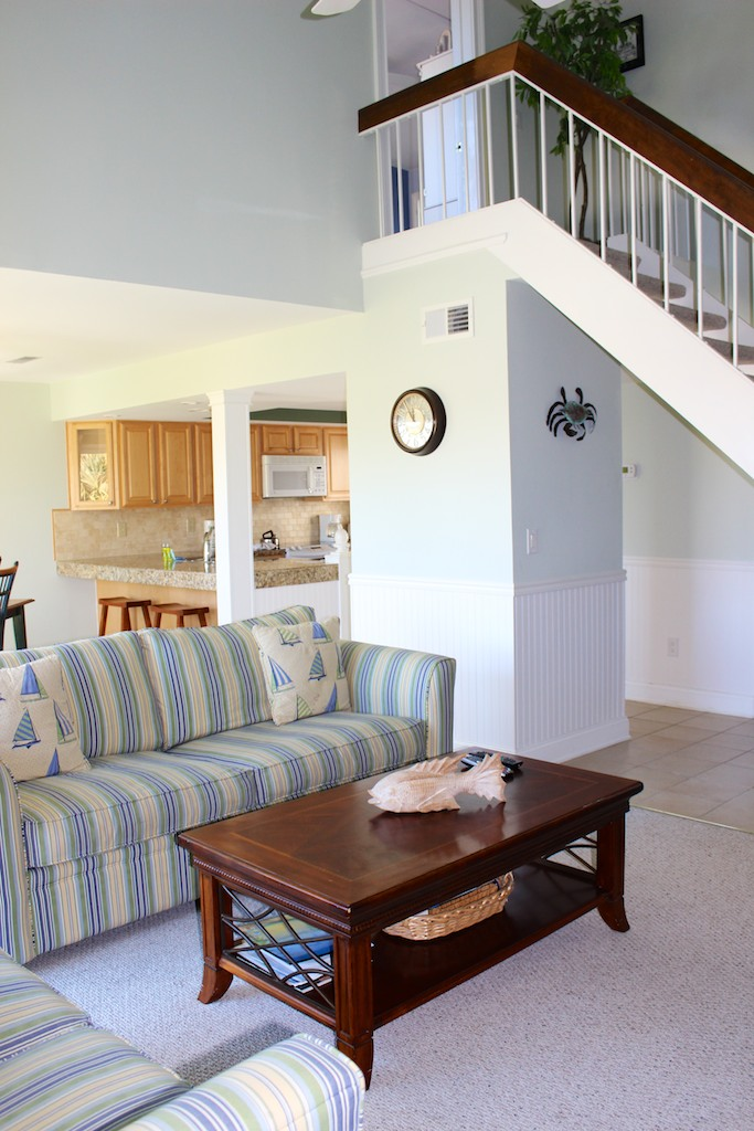 On the 2nd floor you will find the master bedroom.
