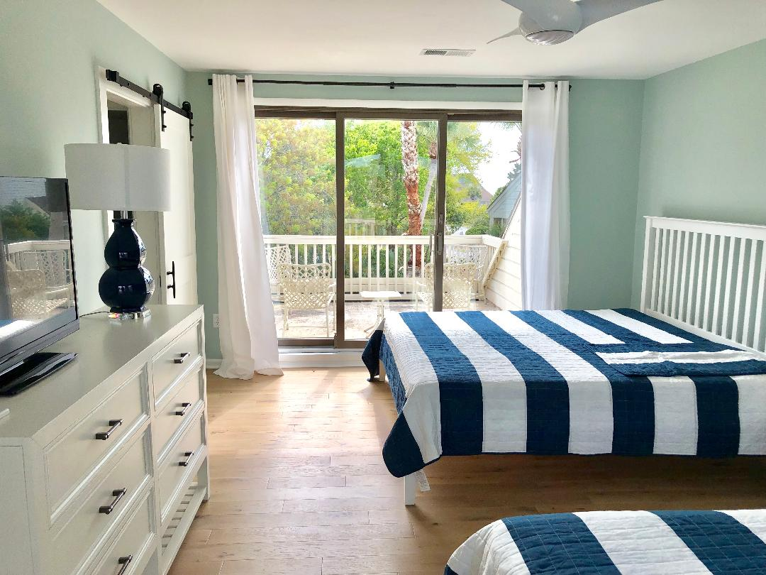 Enjoy the decks off both sides of the upstairs bedrooms.  Furniture arriving daily!