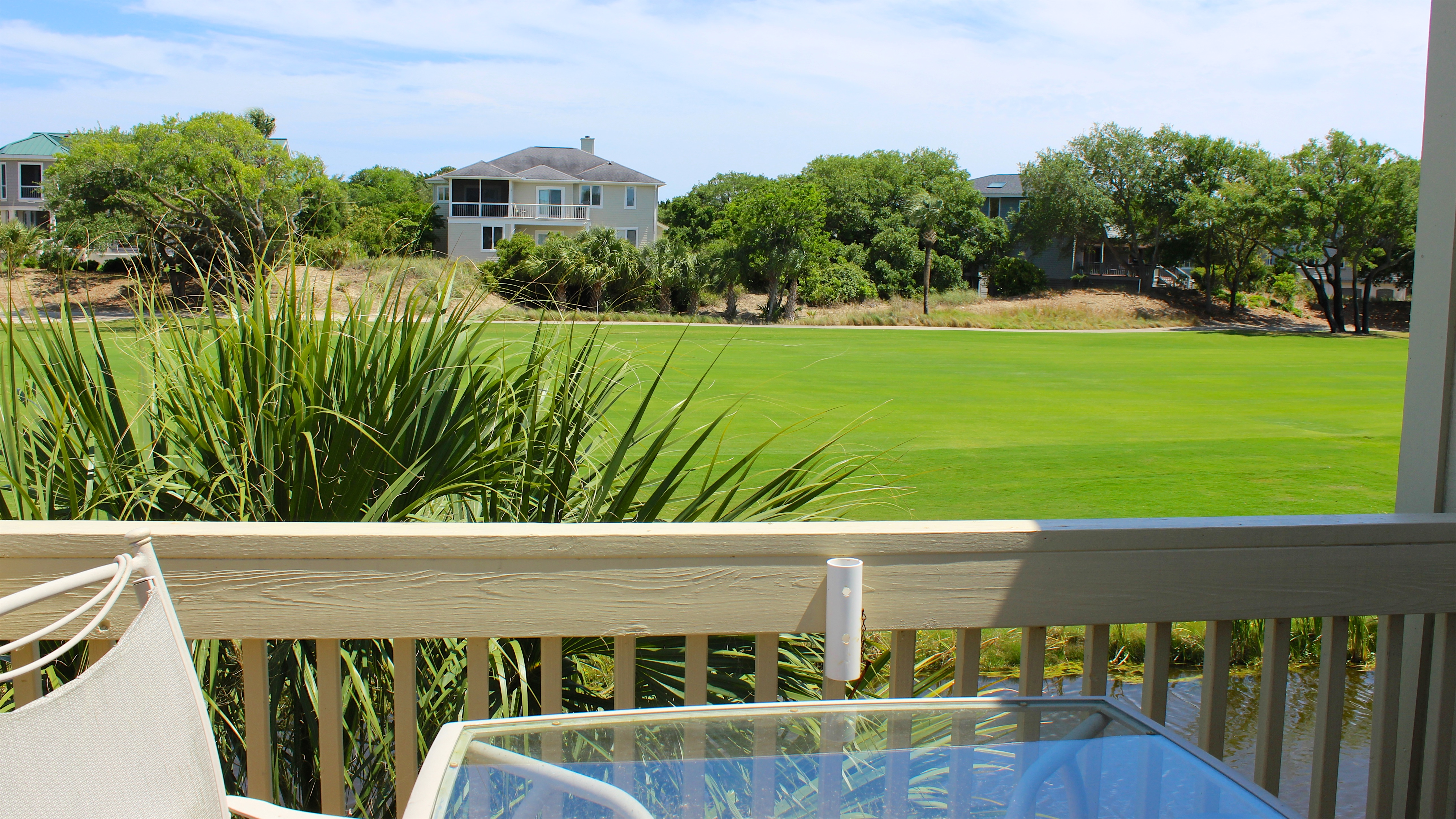 With three decks, there is plenty of outdoor space to enjoy Seabrook's beauty.