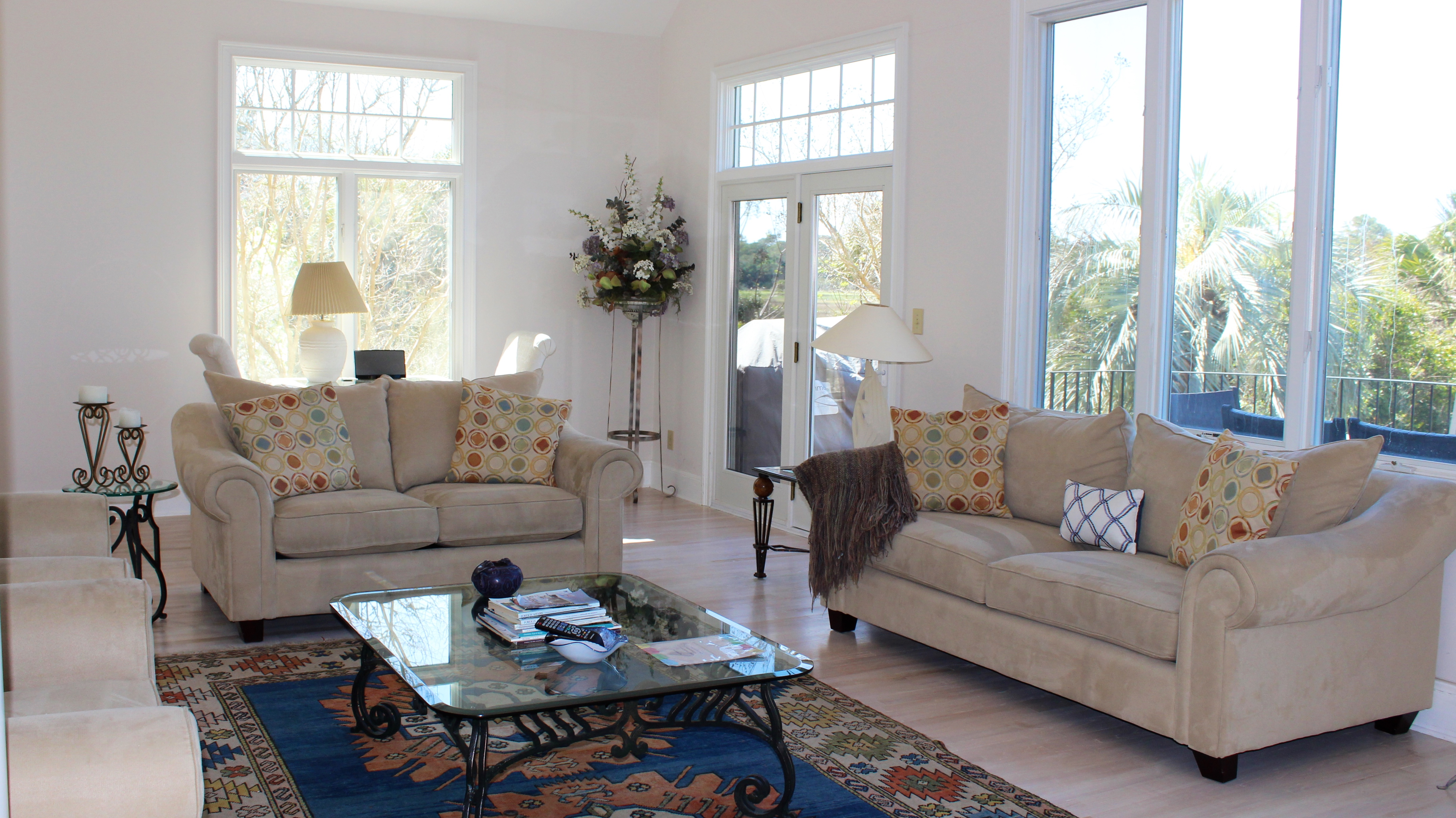 You will love watching the amazing wildlife and sunsets from this great room.