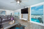 Fort Morgan beachfront family home rental with 7 bedrooms and pool sleeps 16