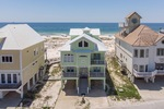 Beachfront vacation home in Fort Morgan AL pet friendly with 7 bedrooms it sleeps 18