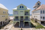 Eden's Waters-Gulf Shores, Alabama-Beachfront Home exterior-Sunset Properties