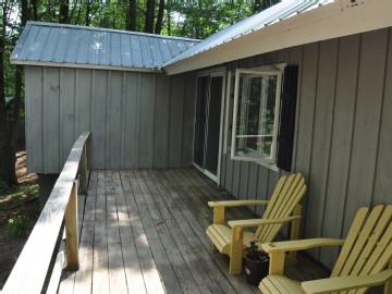 Private Attached Deck