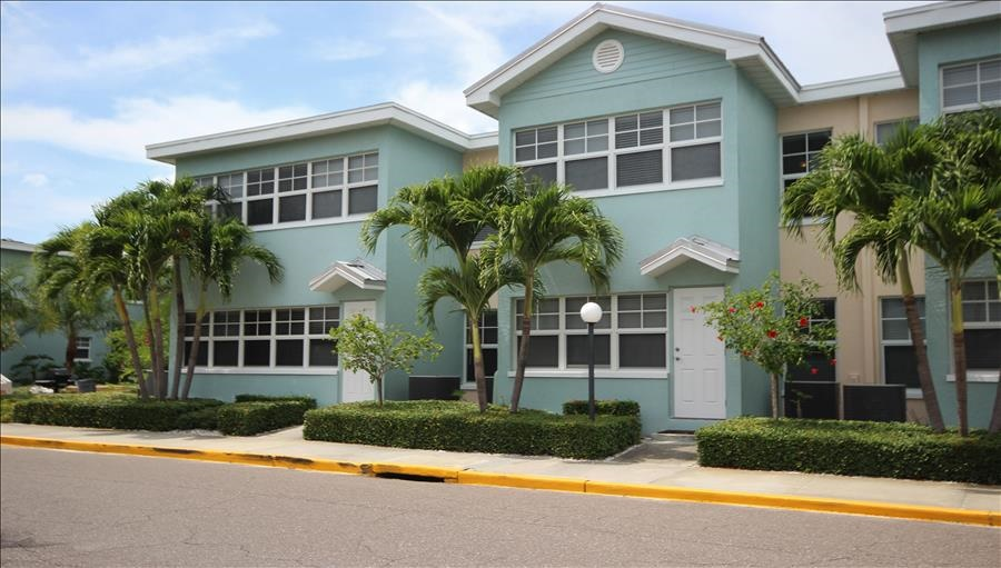 Building that is part of Barefoot Beach Complex