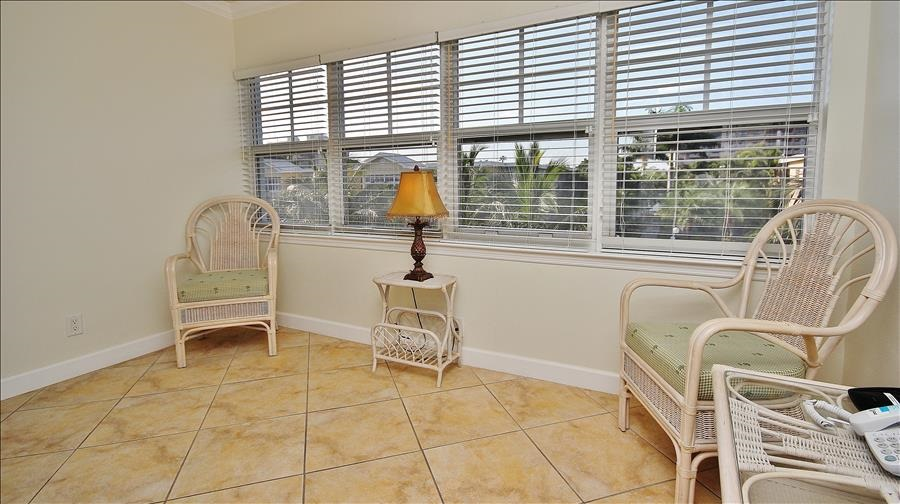 Chairs in Sunroom