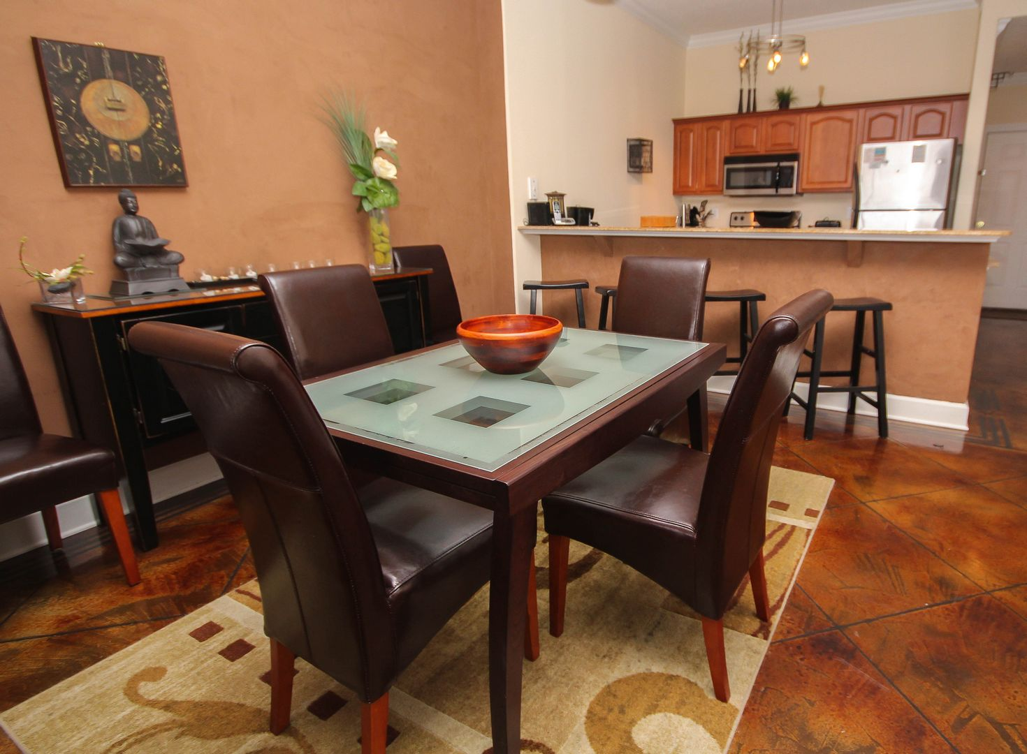 Dining Table W/ Kitchen
