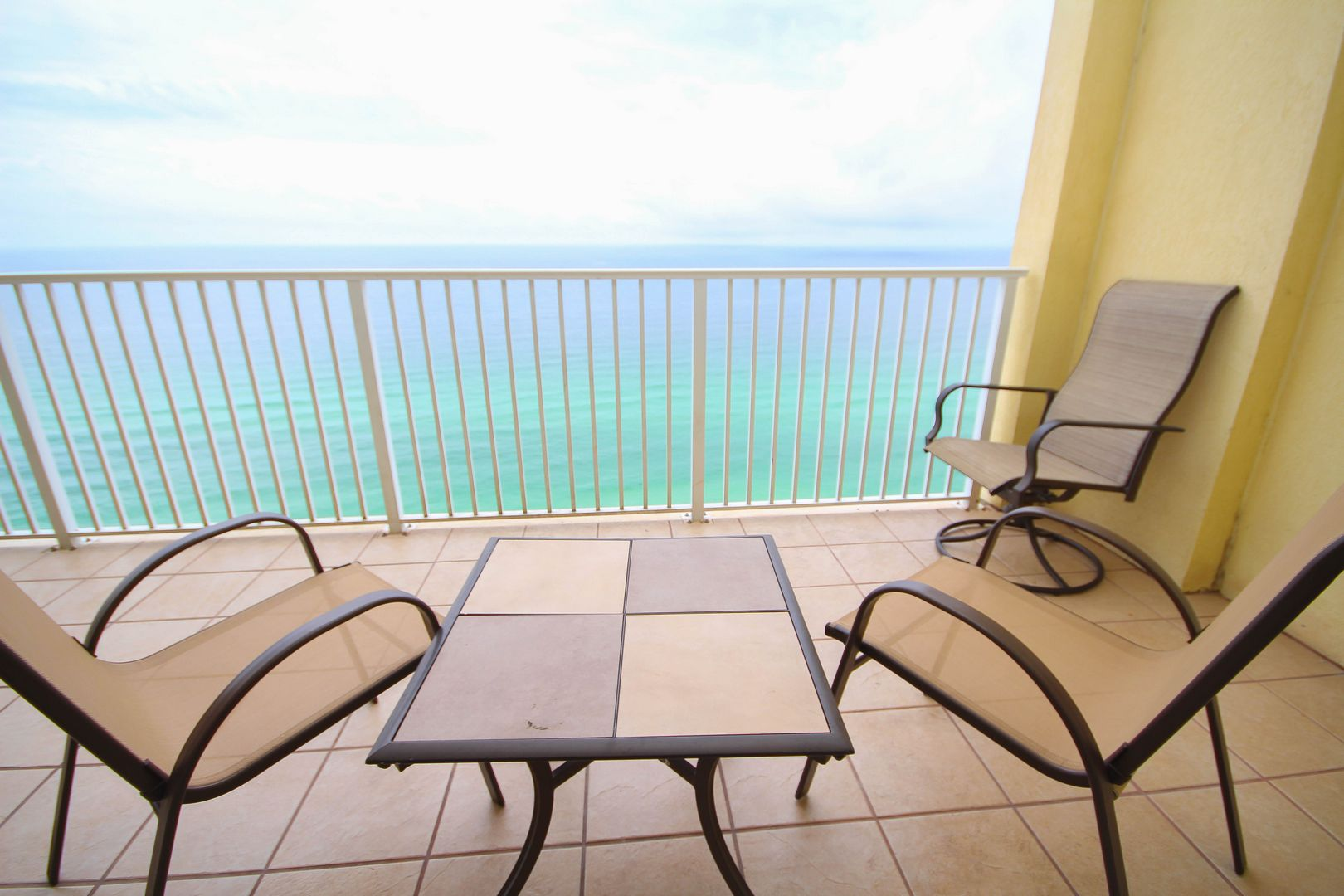 Patio View W/ Chairs