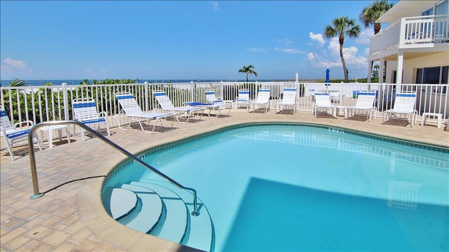 Complex Pool & Lounge Chairs