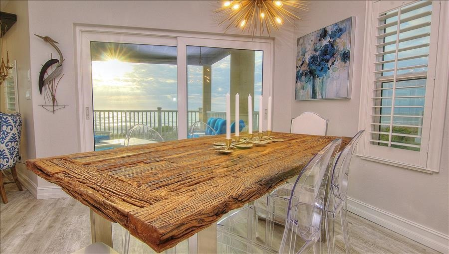 Dining Room W/Sunset Views