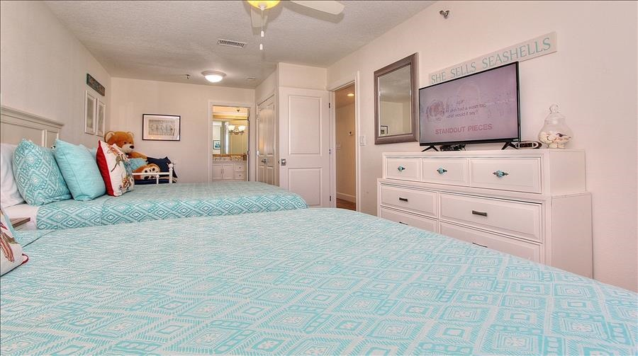 Smart TV in Large Guest Room