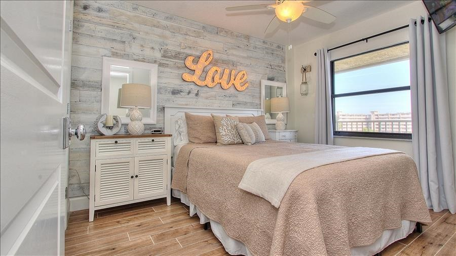 Soft Pink Guest Room