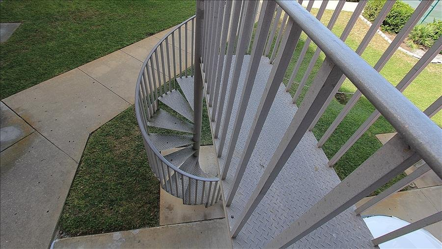 Spiral Staircase from Balcony