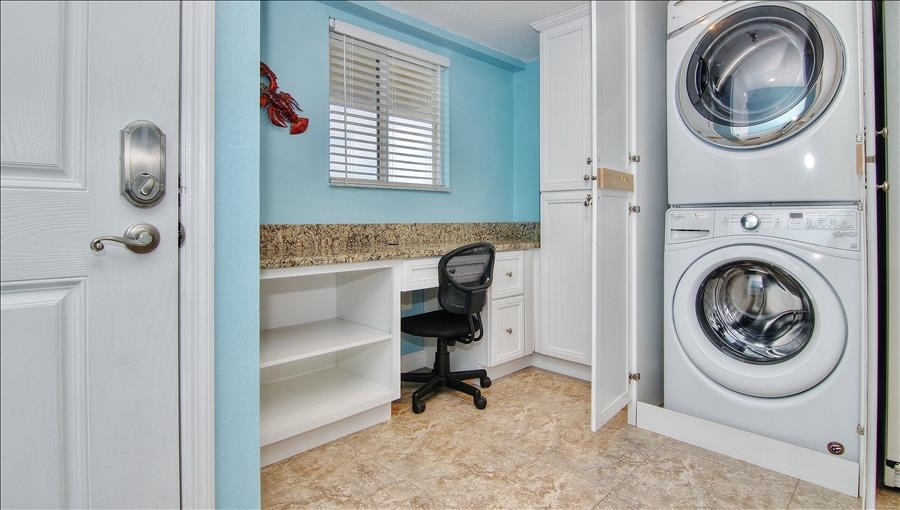 Laundry Area & Work Space