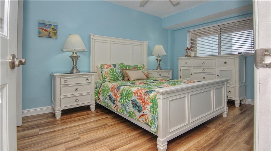 Queen Bed in Guest Bedroom