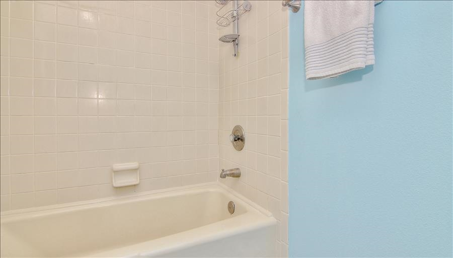 Tub & Shower in Master Bath