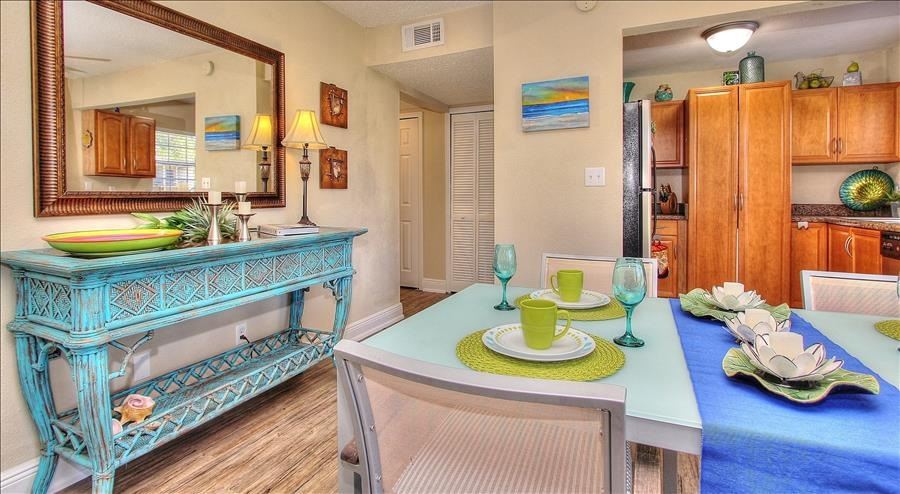 Dining Room with Side Table