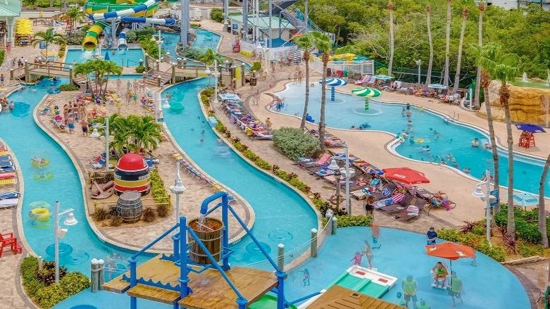 Aerial of Lazy River