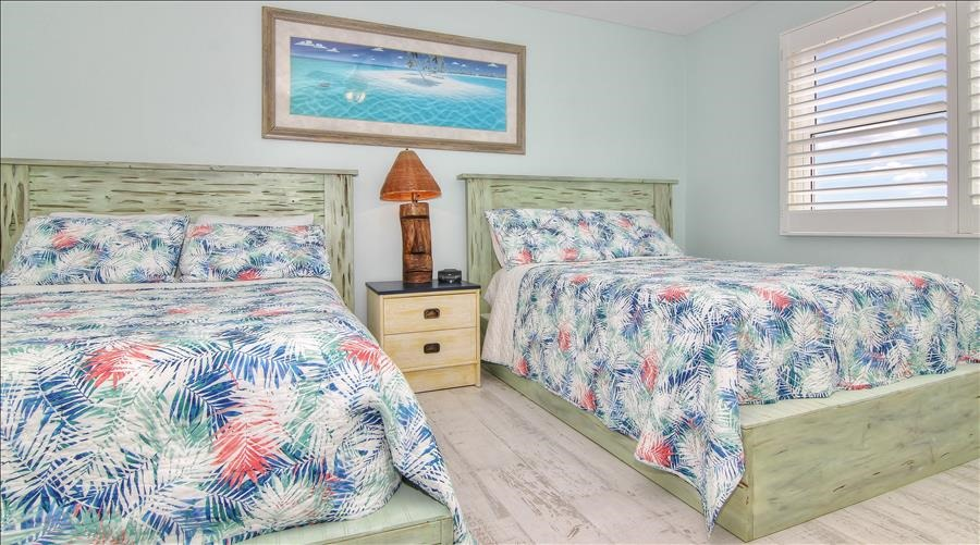 Full Beds in Guest Room