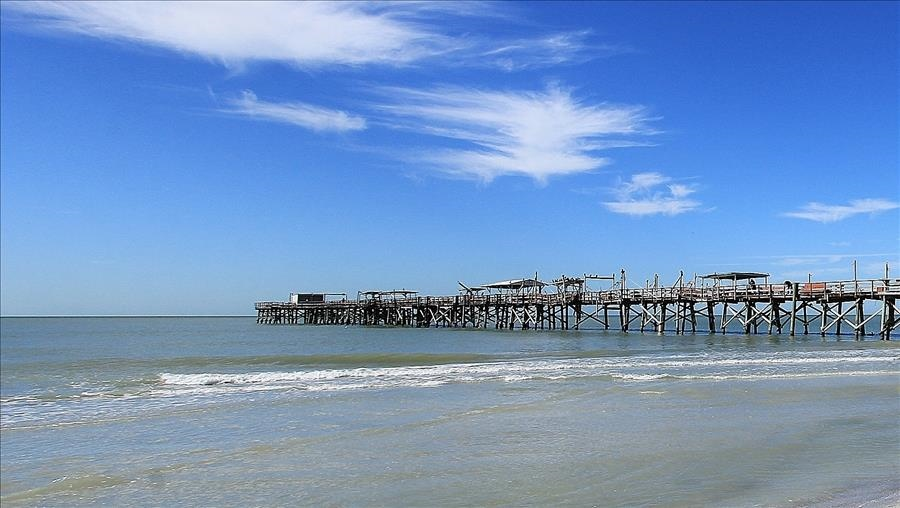 View of Pier and Beach