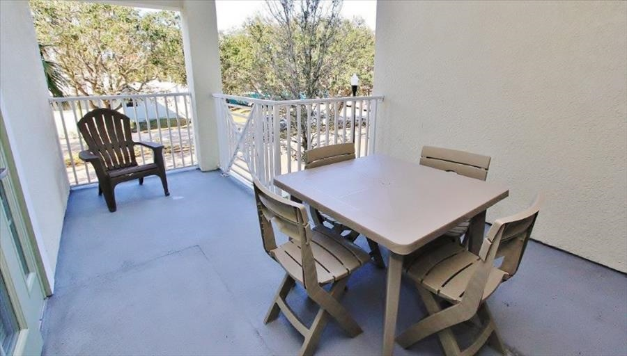 Guest Bedroom Balcony Seating