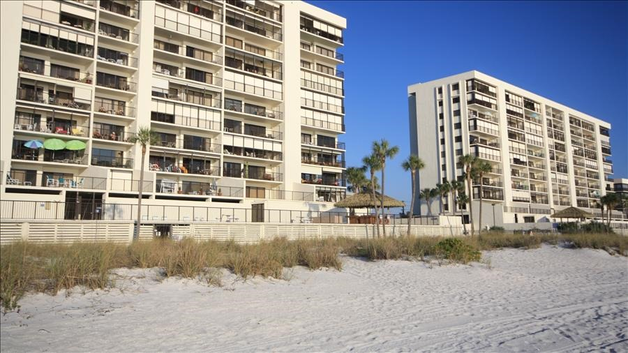 View of Complex from Beach