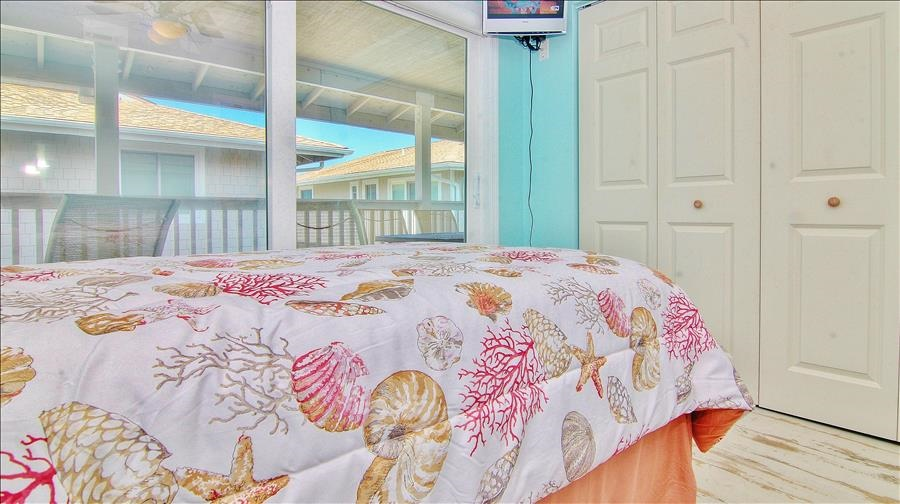 Balcony Access in Guest Room