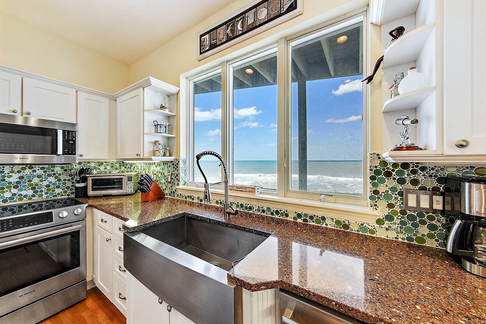 Kitchen View of the Beach