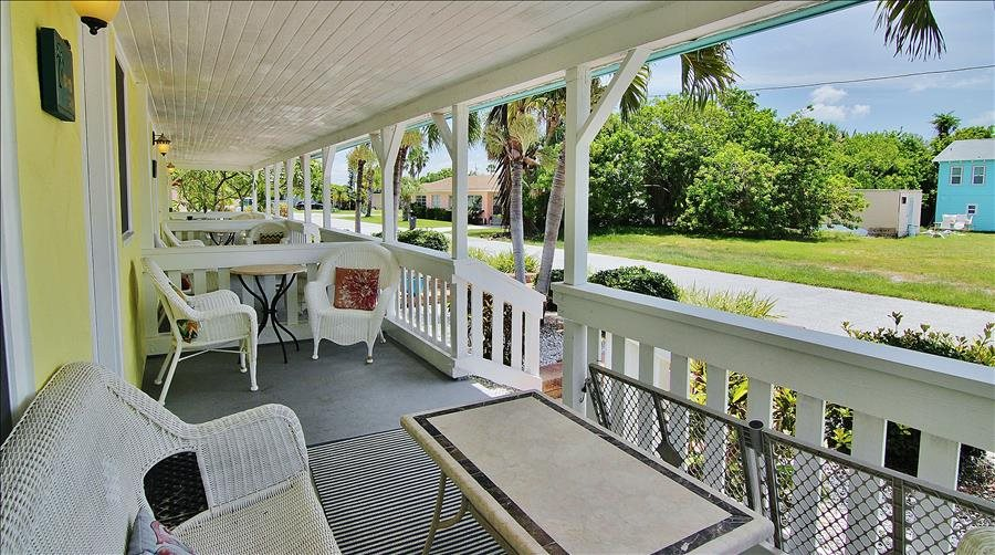 Shared Porch Seating