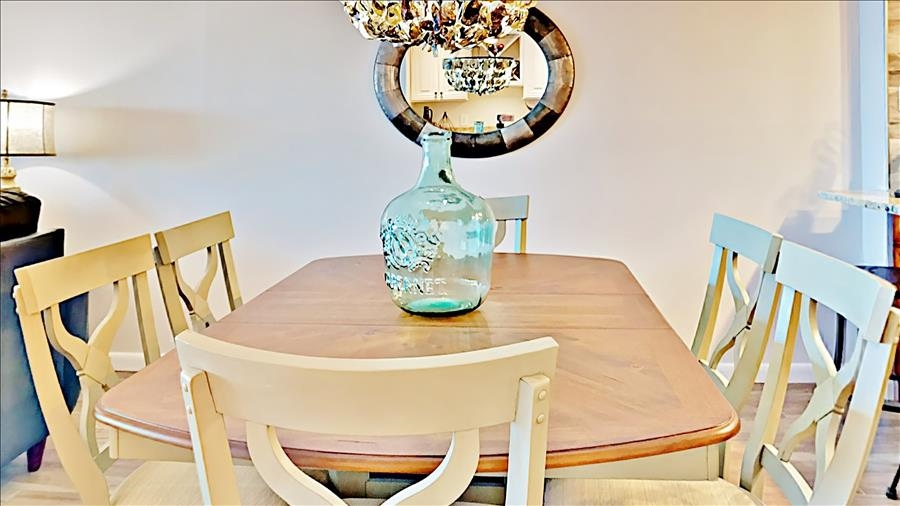 Six Top Dining Table